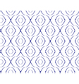 Abstract seamless pattern with ellipse-shape figur vector image vector image