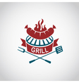 barbecue icon design vector image vector image