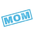 Mom Rubber Stamp vector image
