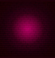 pink brick wall vector image vector image