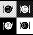 restaurant free wi-fi zone icon isolated on black vector image vector image