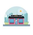 boutique shop store vector image vector image
