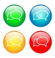 Communication bubbles vector image