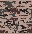 fashionable camouflage pattern seamless vector image