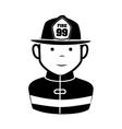 Fireman equipment service emergency vector image vector image