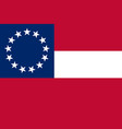 historical flag vector image