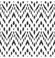 ikat chevron seamless pattern vector image vector image