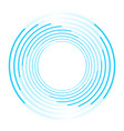isolated vortex on background vector image