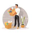 new job concept vector image