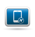 Phone with in plane mode icon vector image vector image