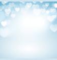 Romantic bokeh background vector image vector image