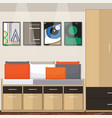 room idea design vector image vector image