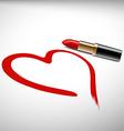 lipstick Stock vector image vector image