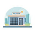 pharmacy shop store vector image