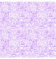 retro fashion line seamless pattern vector image