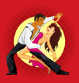 Salsa Dance vector image