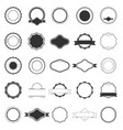 set of labels for logos vector image vector image