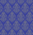 Seamless Thai pattern repetitive background vector image