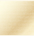beige textured background in thin stripes vector image vector image
