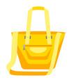 fashion woman bag vector image vector image