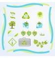 green tech vector image vector image