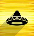 Mexican sombrero icon