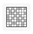 mosaic icon black vector image