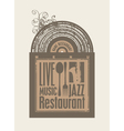 Restaurant music vector | Price: 1 Credit (USD $1)