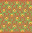seamless abstract gradient avocado contrast vector image vector image