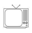 TV17 resize vector image vector image