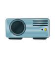 video projector icon image vector image
