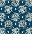 wallpaper blue pattern vector image vector image