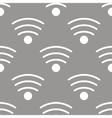 Wi-fi seamless pattern vector image vector image