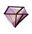 A diamond vector image vector image