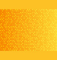 abstract technology digital orange pattern dots vector image vector image