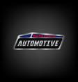 car logo template automotive automotive vector image vector image