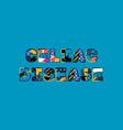 celiac disease concept word art vector image vector image