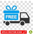 Gift Delivery Eps Icon vector image vector image