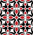 new pattern red vector image vector image