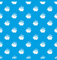 pig money pattern seamless blue vector image vector image