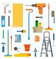 Room repair in home vector image