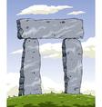 stonehenge vector image