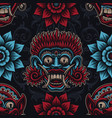 a seamless background for asian theme vector image vector image