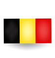 Belgian Flag vector image vector image