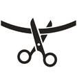 Cutting Ribbon Icon vector image vector image