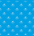delivery airplane pattern seamless blue vector image vector image
