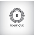 Luxury Vintage logo icon vector image