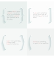 quotes and brackets vector image vector image
