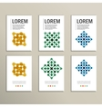 Set modern technology symbol concept vector image