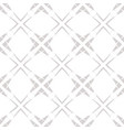subtle grid seamless pattern abstract white and vector image